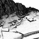 Rappresentazione 3D del corso d'acqua A.P. A.125